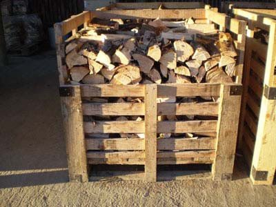 Seasoned Firewood and Log Stores